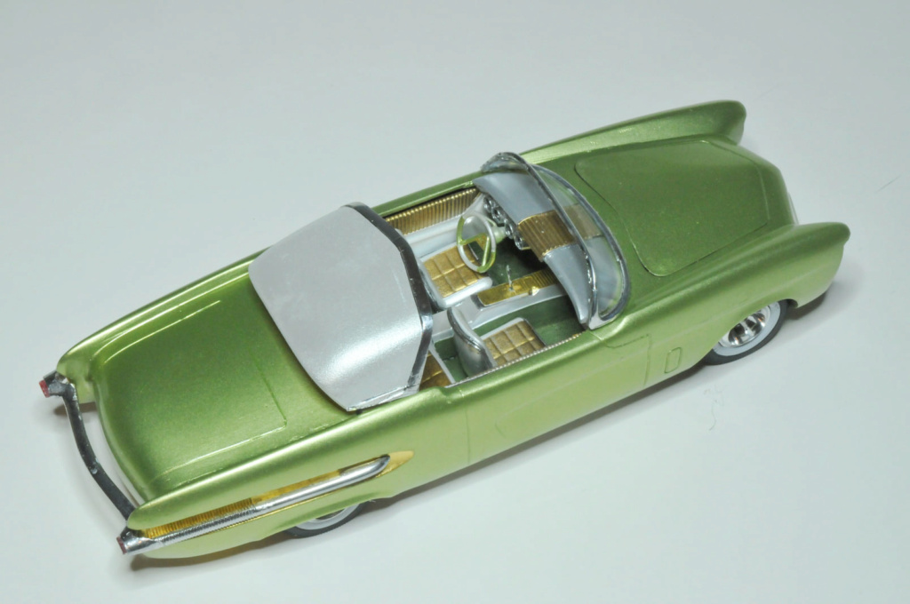 1950 Ford Convertible - customizing kit - trophie series - amt 22879110
