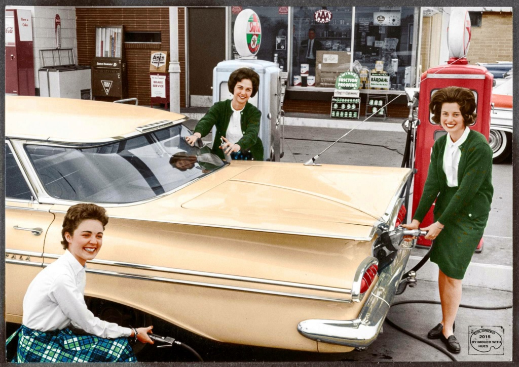 B & W Classic cars and vintage pics colorized by Imbued with hues 23632210