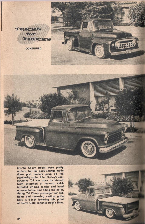 Rod et Custom - January 1959 - Tricks for Trucks - new ideas for pick up 2417