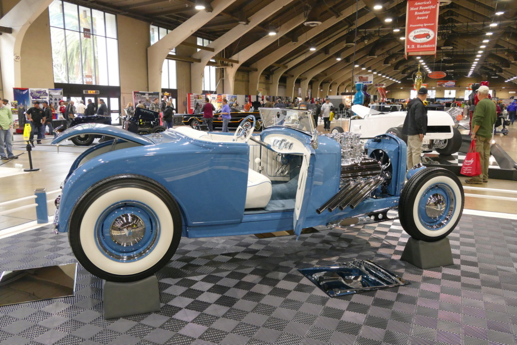 1931 Ford Model A Roadster - Blue Bayou - Chuck Spencer 24398911