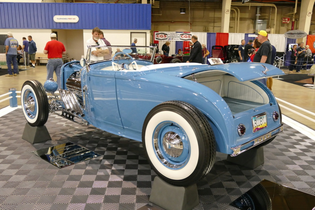 1931 Ford Model A Roadster - Blue Bayou - Chuck Spencer 24766210