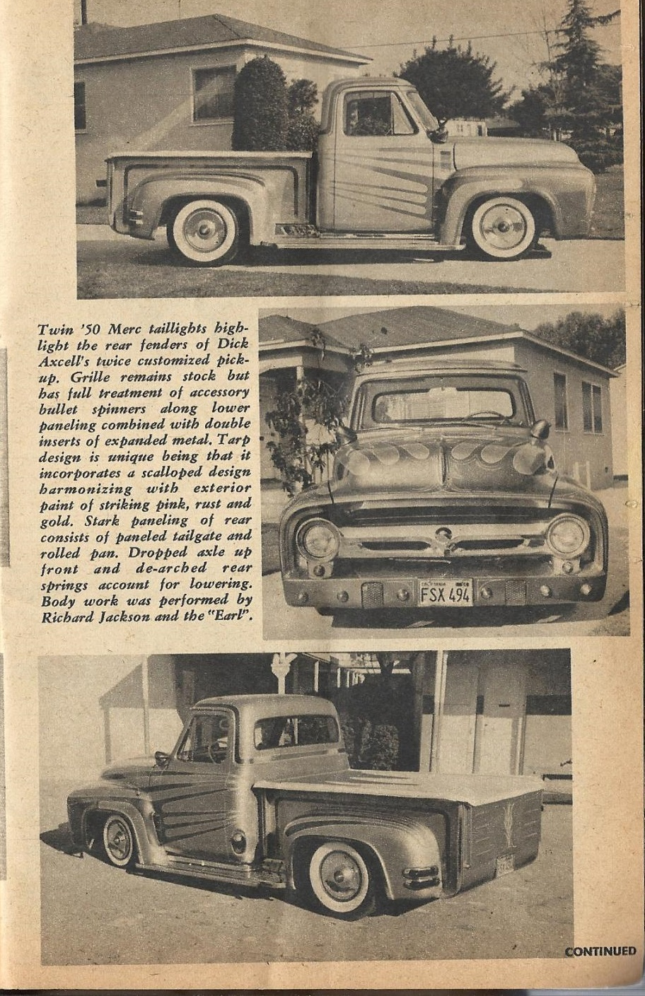 Car Craft - Special Pick Up June 1959 - Pick up Pictorial 2515