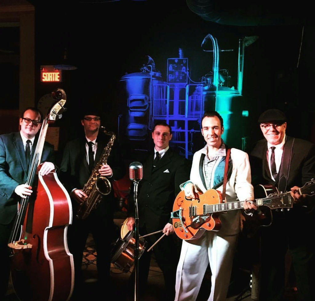 Manny Jr. and the Cyclones - Quebec City,Canada,Rockabilly band 26024210