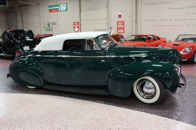 1940 Mercury Convertible - Charles Marr - Carl Morton -  Valley Custom Shop 2612