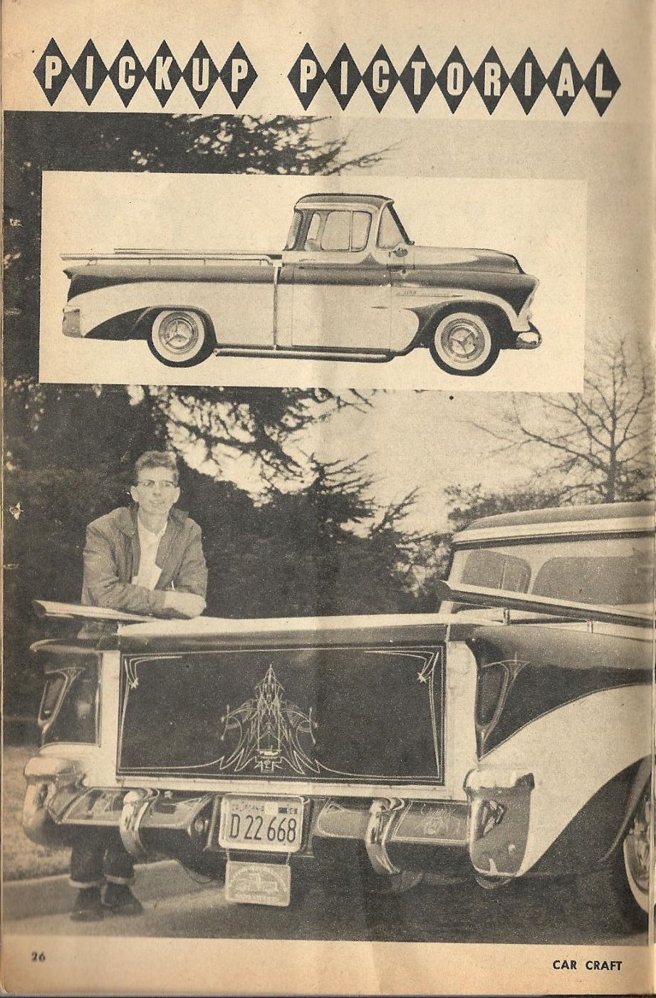 Car Craft - Special Pick Up June 1959 - Pick up Pictorial 2617
