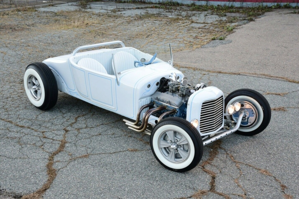 1927 Ford Model T roadster - 60's style hot rod - iced T 27110
