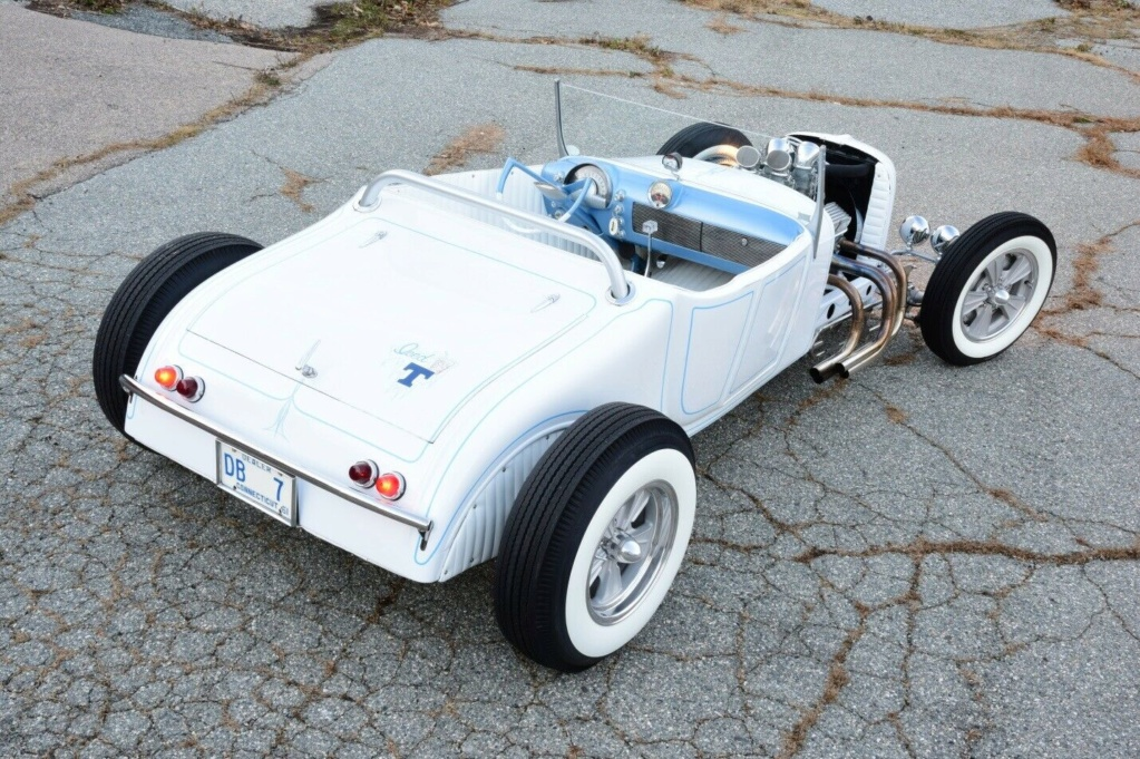 1927 Ford Model T roadster - 60's style hot rod - iced T 271110
