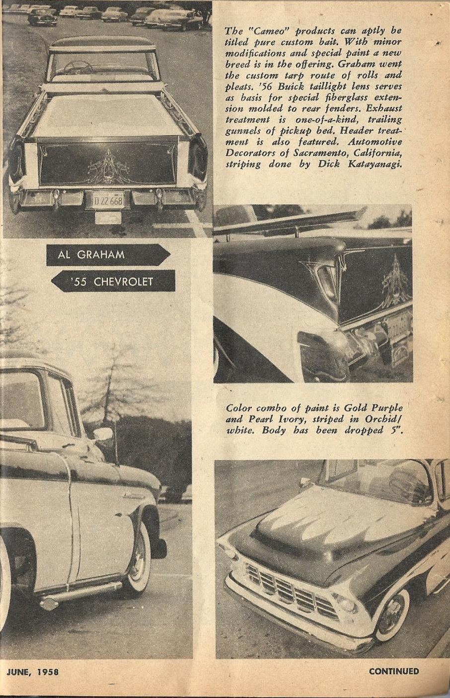 Car Craft - Special Pick Up June 1959 - Pick up Pictorial 2717