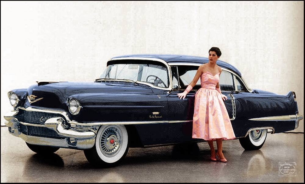 B & W Classic cars and vintage pics colorized by Imbued with hues 27500410