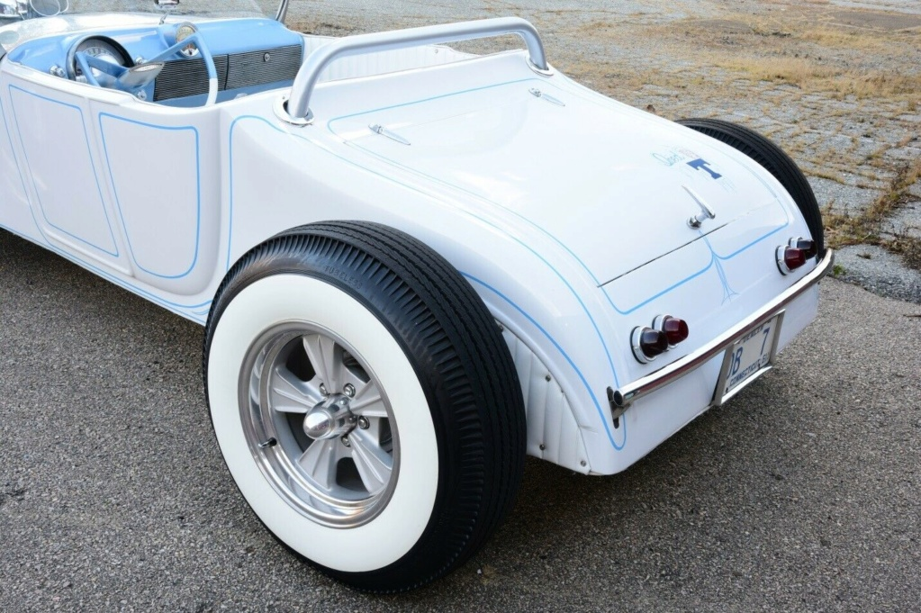 1927 Ford Model T roadster - 60's style hot rod - iced T 27910