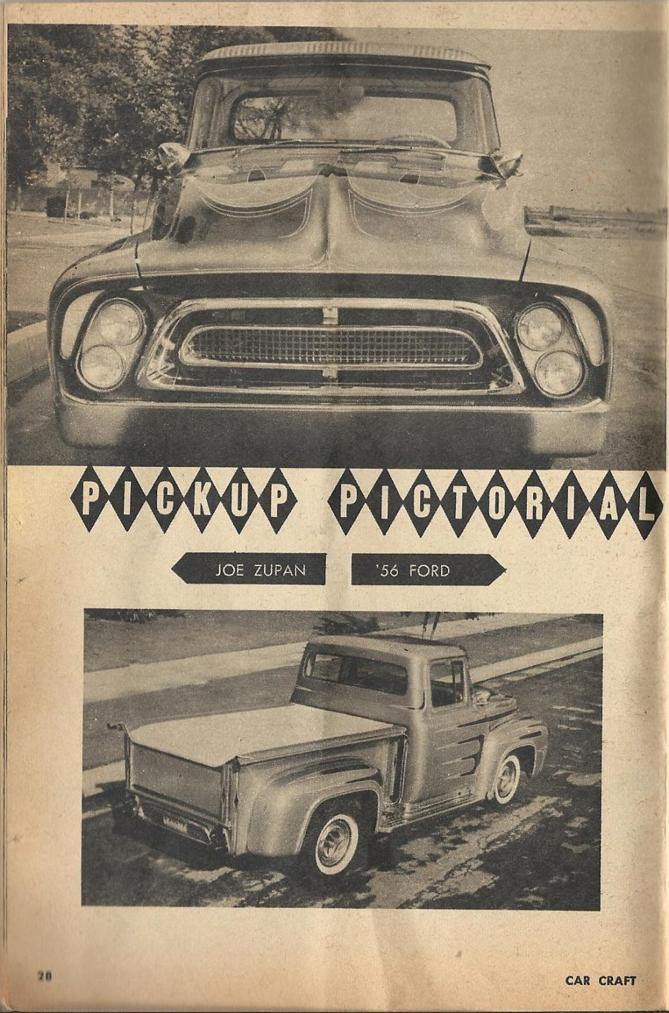 Car Craft - Special Pick Up June 1959 - Pick up Pictorial 2815