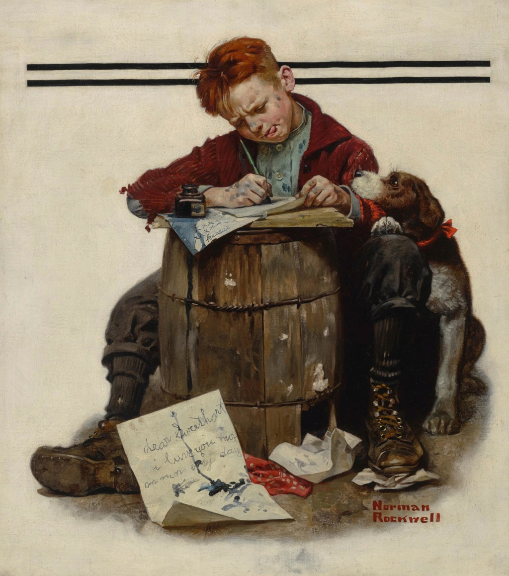 Norman Rockwell - painter (1894 -1978) 2918