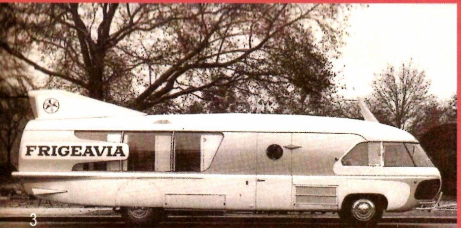 """Citroën Type 55 - Charbonneaux / LEFFONDRE"""" 1955/56 - Camion fusée frigeavia Teleavia - Cirque Pinder 29536114"""