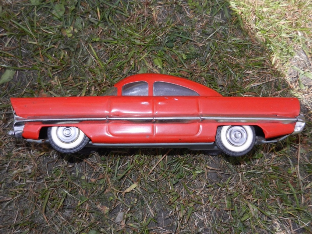 Old Soviet Rusian Vtg USSR TOY - gm motorama concept car style 2g12