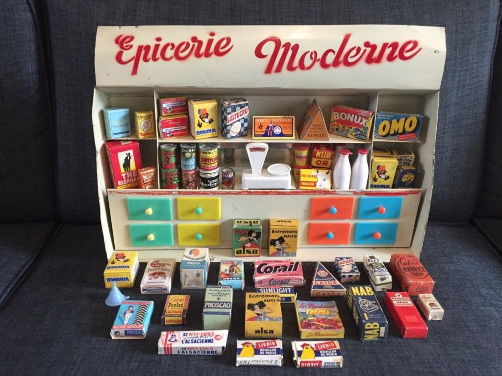 Epicerie jouet années 50 - Grocery toys vintage 327