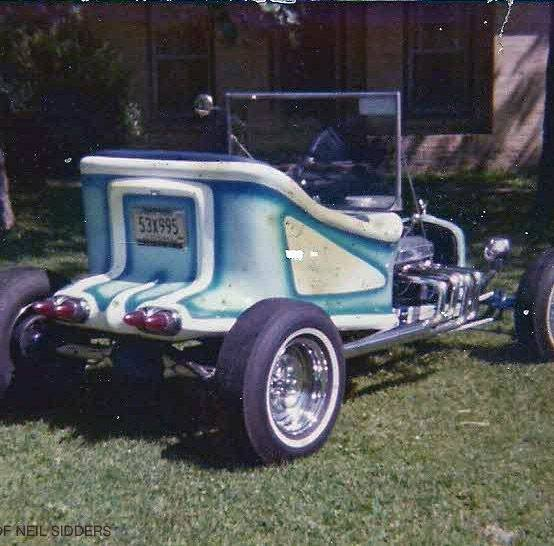 """Doug Young's Project - Suvivor """"T"""" Rod with original Ed Roth's Outlaw Body 33132410"""