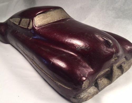 Vintage Auto Design Car Model Fisher Body Competition Streamline Futuristic 1950 3410