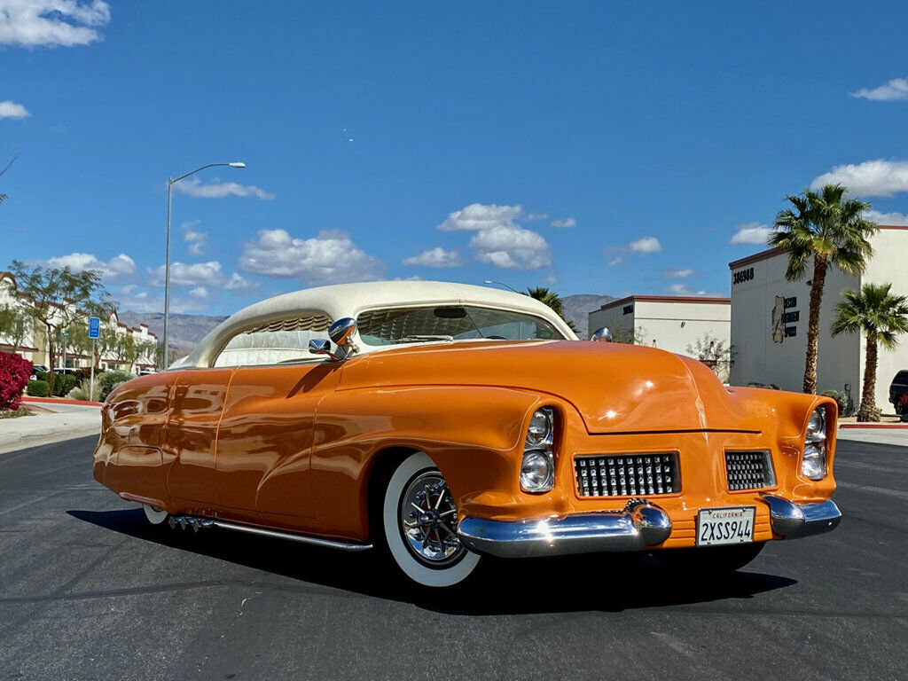 "1951 Mercury Custom Sedan BUILT BY HALL OF FAME KUSTOMIZER FRANK DE ROSA  INDUSTRY KNOWN AS ""MERCURY 4"" 348"