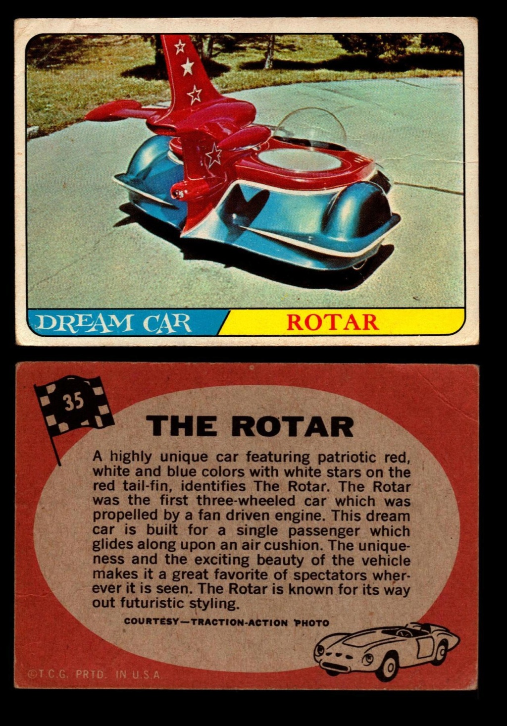 Hot Rods Topps - Vintage Trading Cards 1968 - Custom car - Dragster - Racer - Dream car - Barris Kustom City - Ed Roth Darrill Starbird, Gene Winfield, Bill Cuchenberry - Page 2 35_bea10