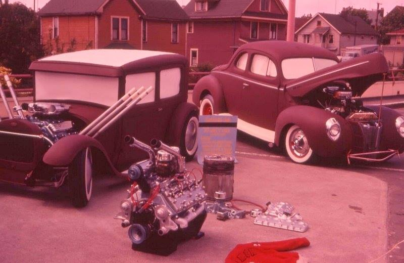"Hot rod in street - Vintage pics - ""Photos rétros"" -  - Page 6 36802210"