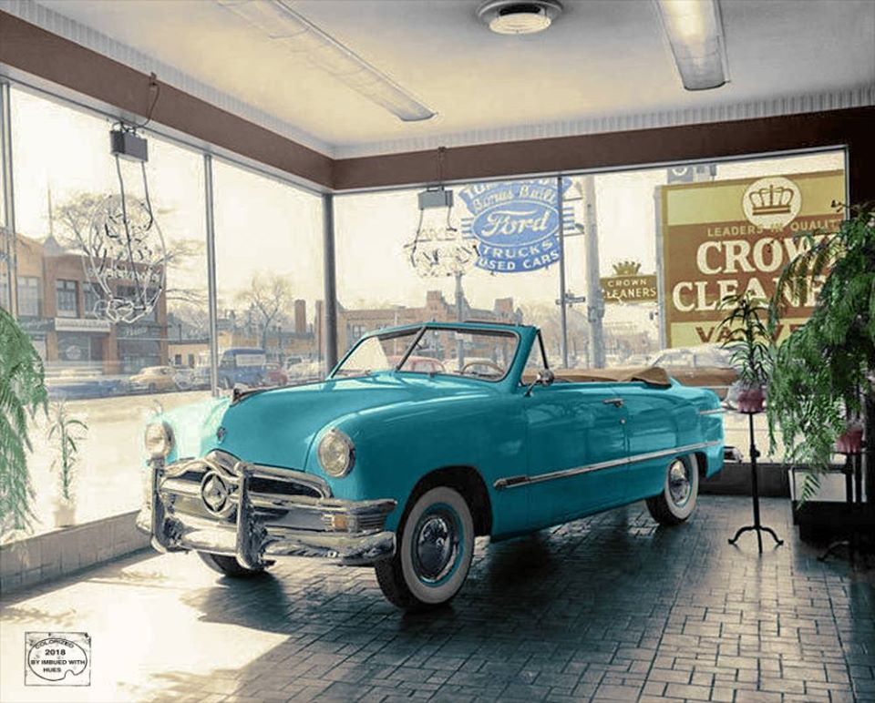 B & W Classic cars and vintage pics colorized by Imbued with hues 37174810
