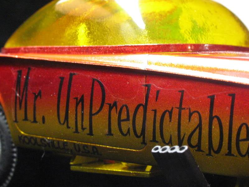Mr Unpredictable - Predicta show car in Funny car dragster  38875410