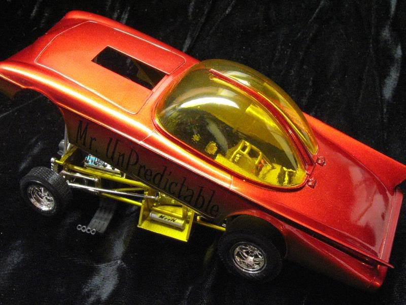 Mr Unpredictable - Predicta show car in Funny car dragster  38894210