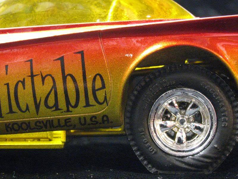 Mr Unpredictable - Predicta show car in Funny car dragster  39077810