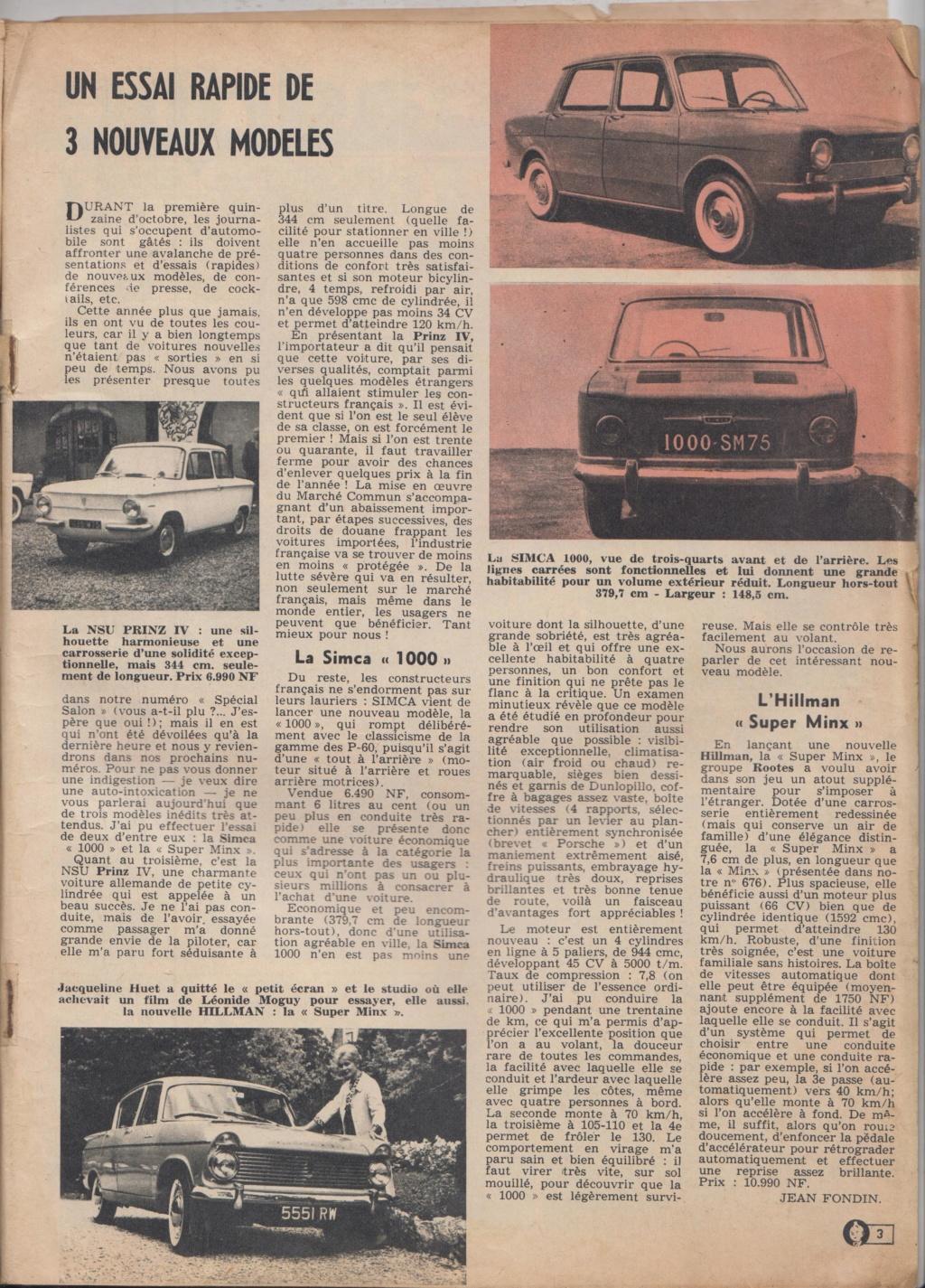 Le Journal de Tintin - de 1959 à 1964 les articles sur l'automobile et la moto 3_mode10