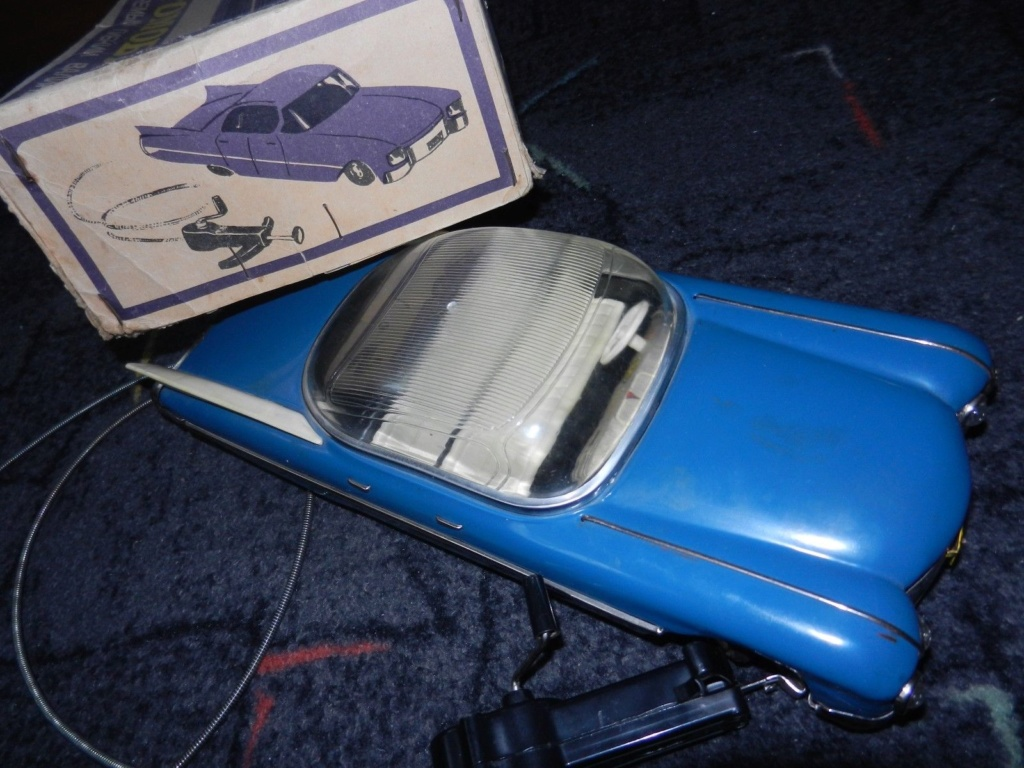 1959 RUSSIAN TIN TOY LIMOUSINE CADILLAC  3g13