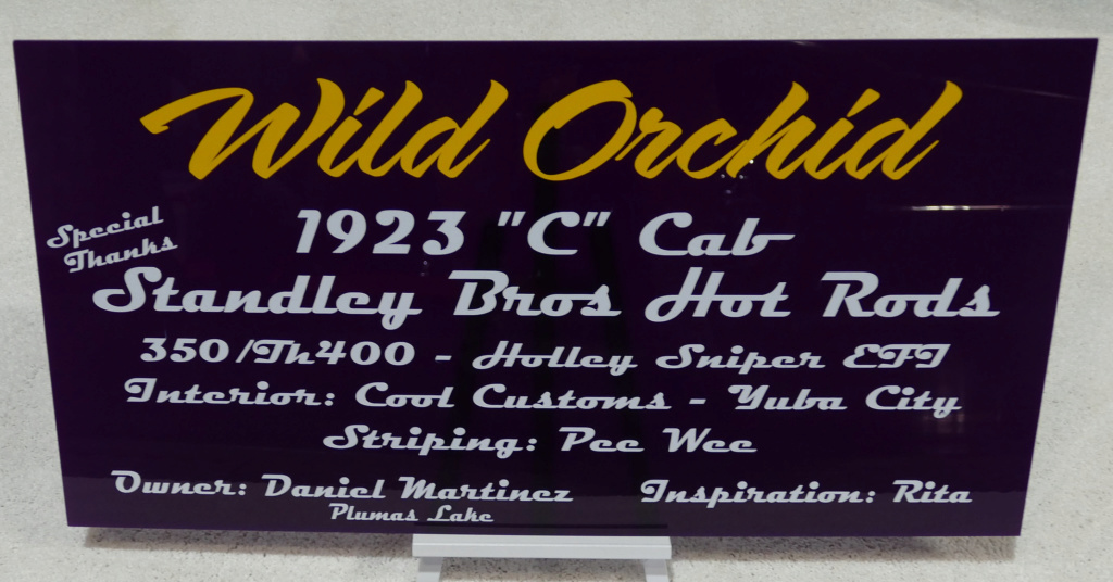 Wild Orchids - 1923 C Cab - Standley Bros Hot Rods 40203711