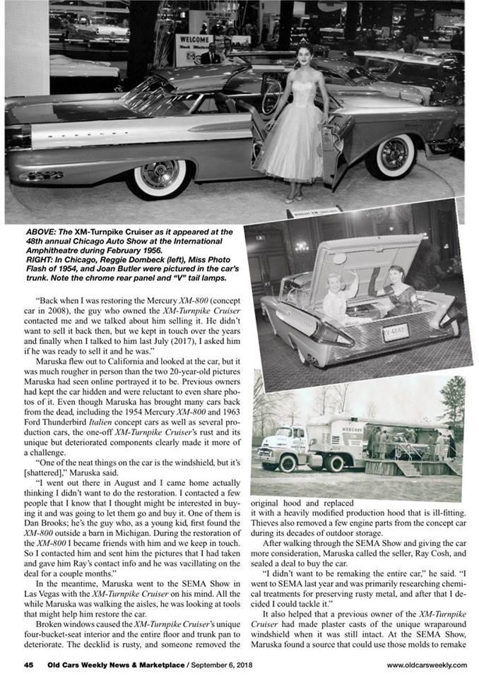 1956 Mercury XM Turnpike Cruiser  40508010