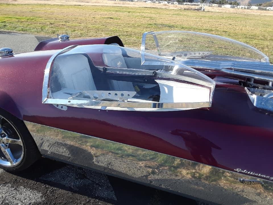 "Splittin image ""Hot Wheels concept show rod "" Gotham Garage 41911310"