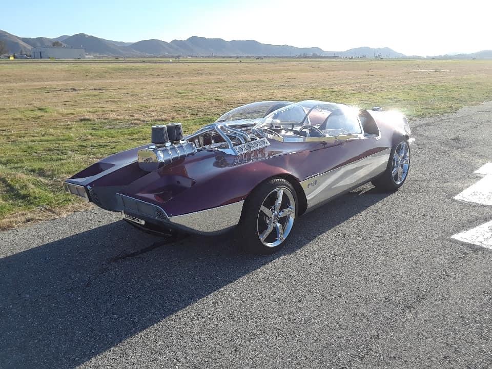 "Splittin image ""Hot Wheels concept show rod "" Gotham Garage 41927410"