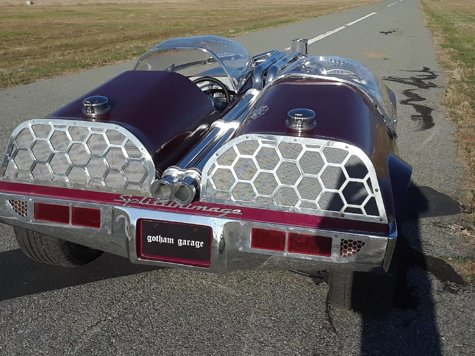 "Splittin image ""Hot Wheels concept show rod "" Gotham Garage 41933110"