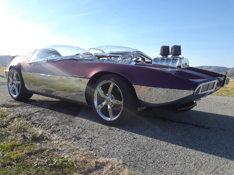"Splittin image ""Hot Wheels concept show rod "" Gotham Garage 41942210"