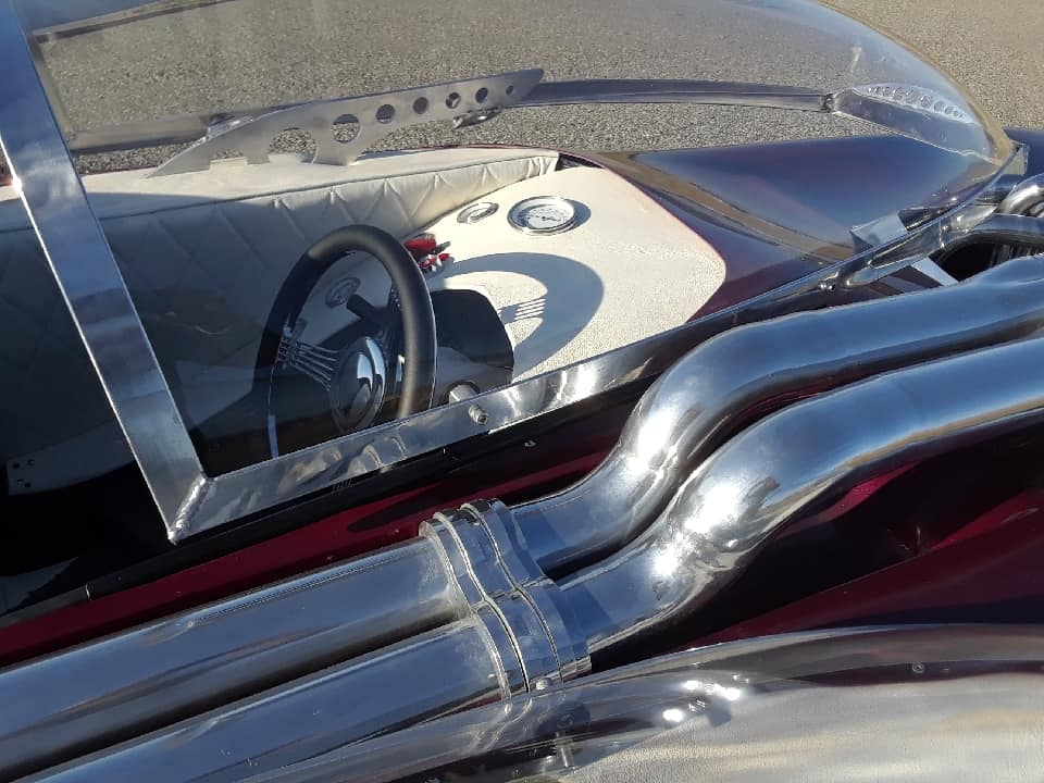 "Splittin image ""Hot Wheels concept show rod "" Gotham Garage 41965010"