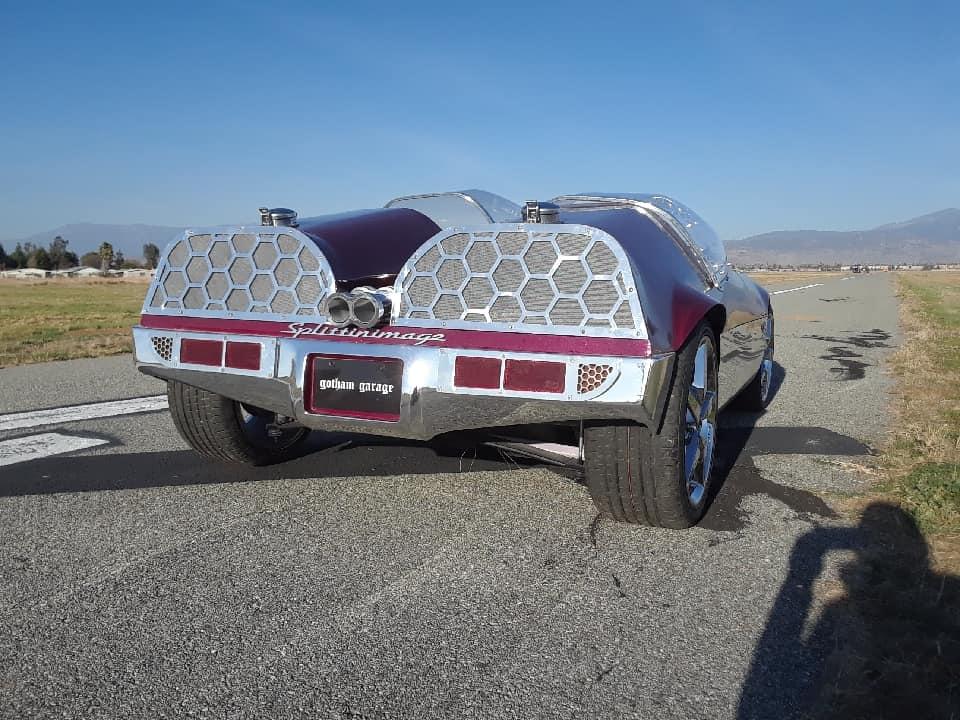 "Splittin image ""Hot Wheels concept show rod "" Gotham Garage 41970911"