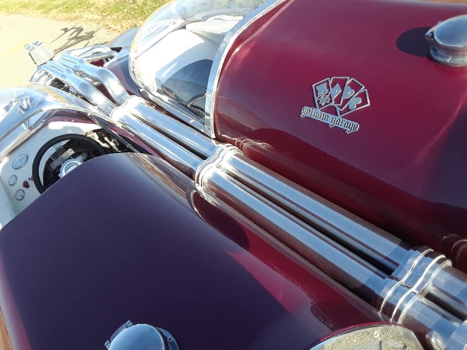 "Splittin image ""Hot Wheels concept show rod "" Gotham Garage 42092510"