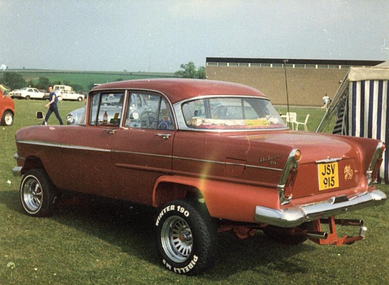 early 1980s UK Custom car and Hot Rod show  42987110