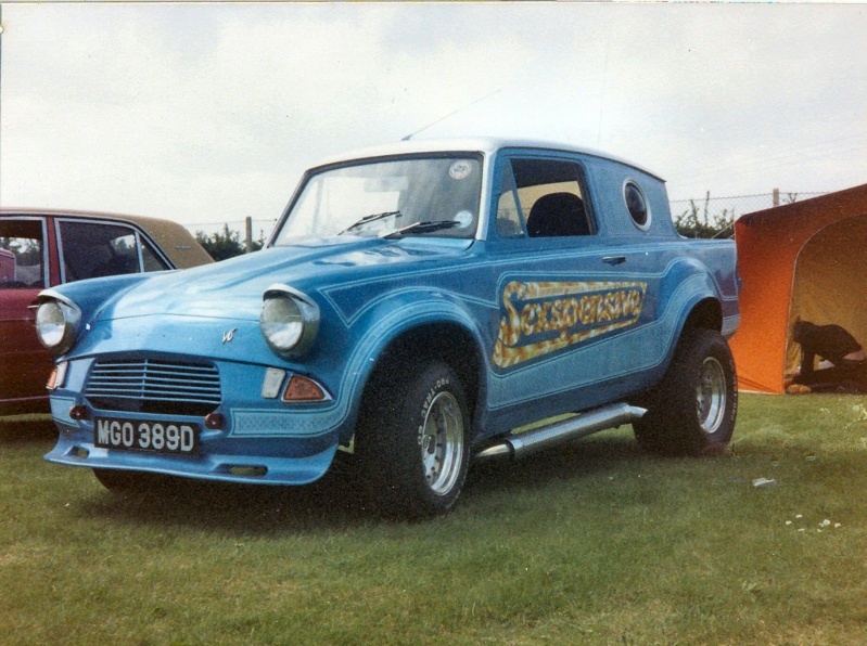 early 1980s UK Custom car and Hot Rod show  42998110