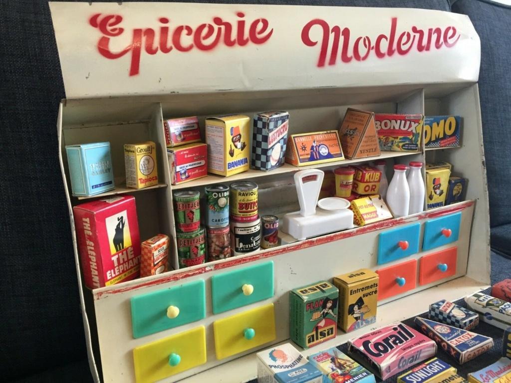 Epicerie jouet années 50 - Grocery toys vintage 430