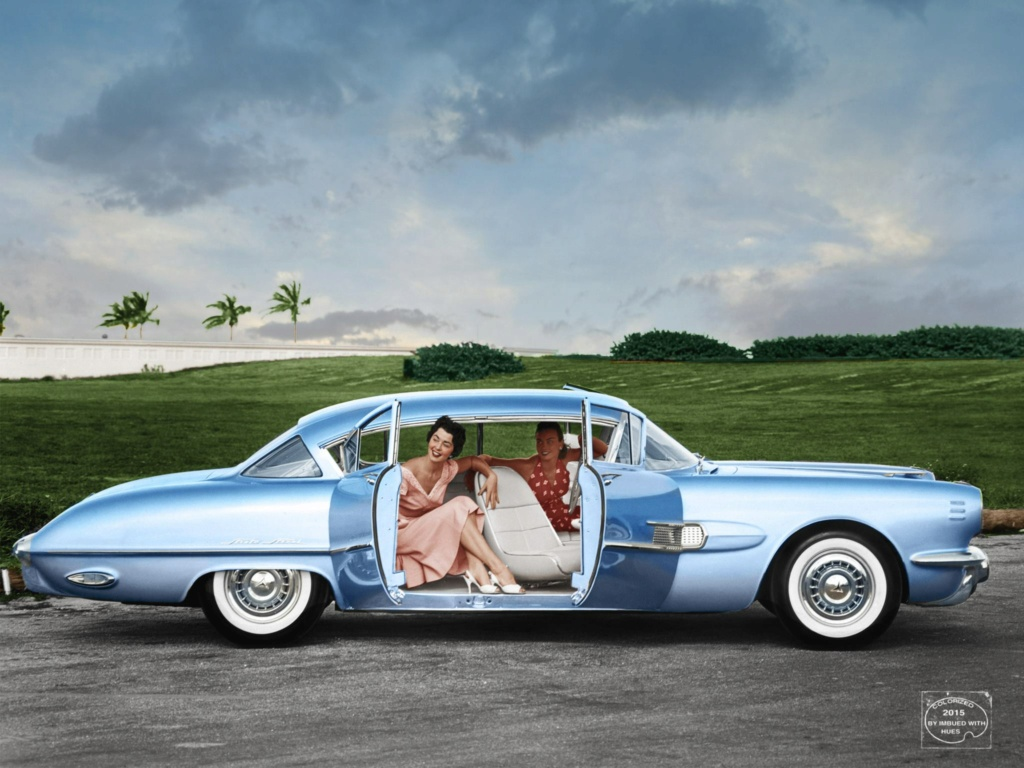 B & W Classic cars and vintage pics colorized by Imbued with hues 43242510