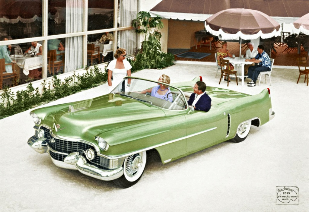 B & W Classic cars and vintage pics colorized by Imbued with hues 43294810