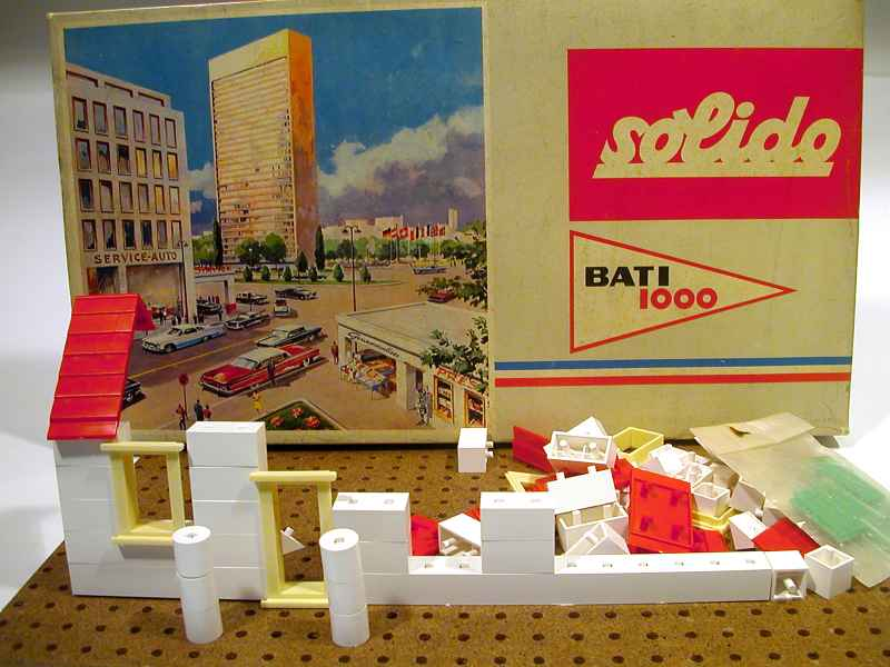 SOLIDO  BATI 1000  -  Jeu de construction. 446810