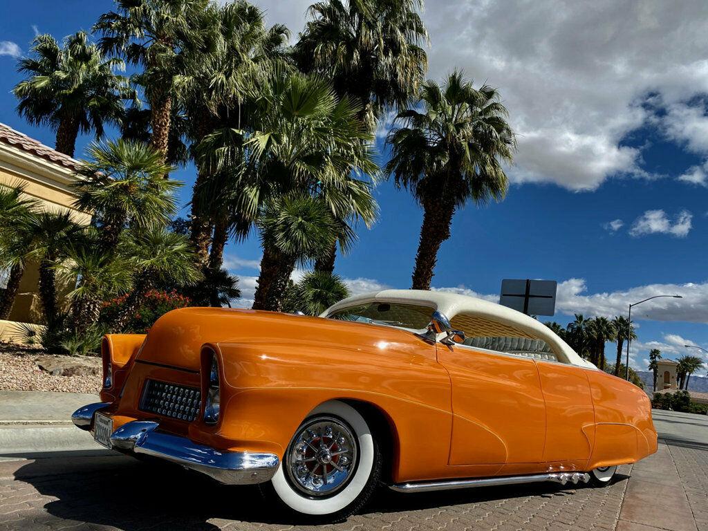 "1951 Mercury Custom Sedan BUILT BY HALL OF FAME KUSTOMIZER FRANK DE ROSA  INDUSTRY KNOWN AS ""MERCURY 4"" 447"