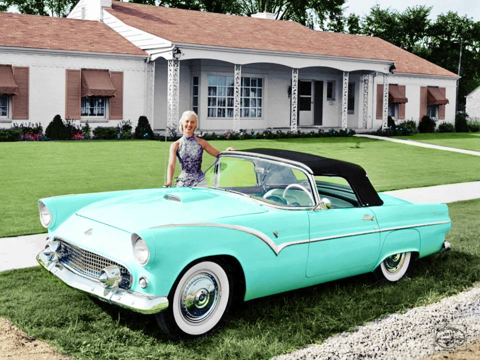 B & W Classic cars and vintage pics colorized by Imbued with hues 44886010