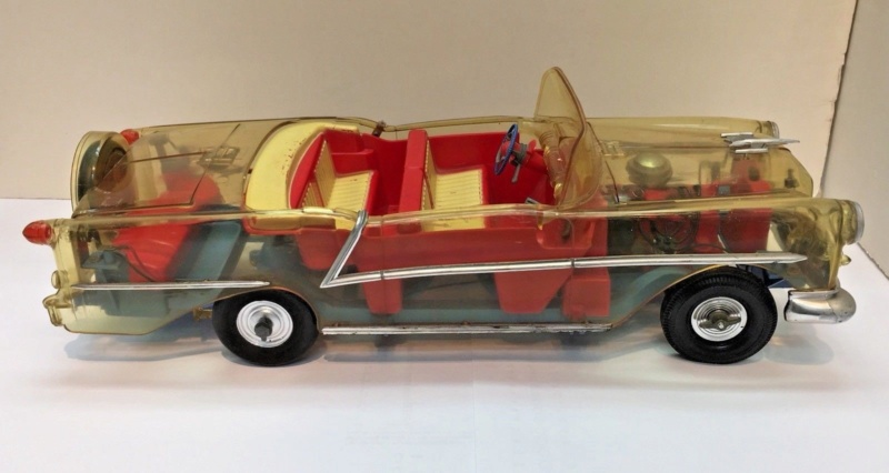 ITC Model / Ideal Toy Co. 1956 Oldsmobile Starflite 4510