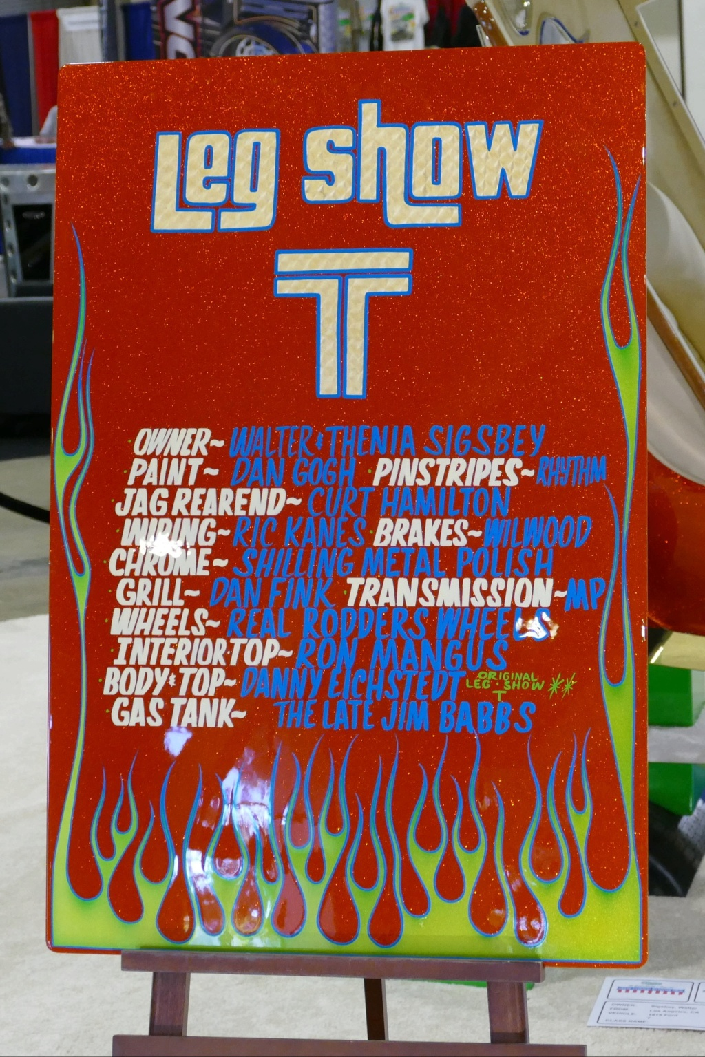 Leg T Show - Walter & Thenia Sigsbey -  49439015