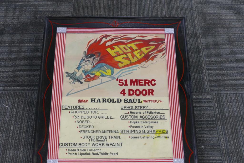 1951 Mercury Convertible - Hot Sled - Harold Saul - Dean & Son Fullerton 49460111